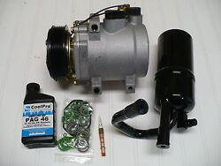 2006-2011 LINCOLN TOWN CAR (with 4.6L engines) NEW AC AC COMPRESSOR KIT