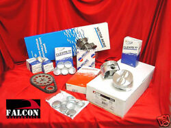 Pontiac Tempest 195 Deluxe Engine Kit Flat Top Pistons Bearings Gaskets