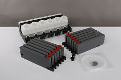 Bulk Ink Supply System For Mimaki And Roland With Chip Socket Vertical
