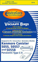 Sears Kenmore 5055 50557 50558 Vacuum Bags Type C And Q Micro Filtration