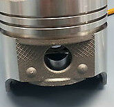 Lincoln Mercury Ford Pistons + Rings Kit 430 1958 59 60 61 62 Flat Top