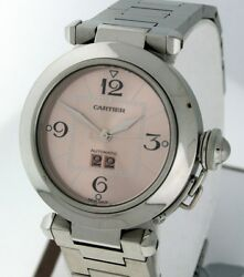 Pasha C Big Date Stainless Steel Mid Size Rare Automatic Watch.