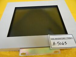 Tokyo Electronic Industry Te6036a7 Touch Screen Monitor Lcd1012a Used Working