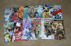 Frankenstein Agent Of Shade 0-16 Complete Set Dc 2011 Vf/nm 1st Prints New 52