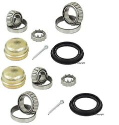 2-leftandright Oem Fag Rear Wheel Bearing Kit For With Drum Brakes Without Abs