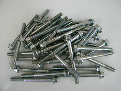 Holley Qft Aed Ccs 26-6s Silver Fuel Bowl Screws Hex Head 2 1/2 Long Pack Of 100