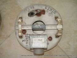 Vintage Aircraft Eng Heater Aviation Part Surplus Military Free Shipping B.