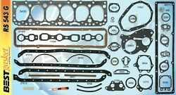 Best Full Engine Gasket Set Head+manifold+valve Cover For Chevy/gmc 235 1953-63