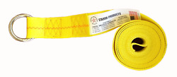 20 Pack 2 X 10ft Lasso Strap W/ O-ring Tow Dolly Wheel Lift Rollbacktie Down