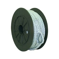 1/2 Inch X 250 Ft Three Strand Twisted Nylon Anchor Line For Boats