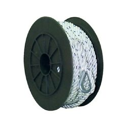 3/8 Inch X 150 Ft Premium Three Strand Twisted Nylon Anchor Line For Boats