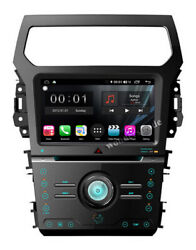 Android 9.0 Car Dvd Radio Gps Navigation Stereo Head Unit For Ford Explorer
