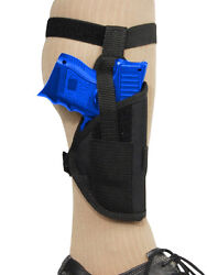 New Barsony Gun Concealment Ankle Holster for Kel-Tec Sccy Compact 9mm 40 45