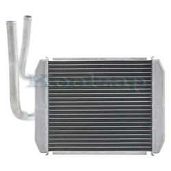 88-91 Chevy C/k-series Pickup Truck Front Heater Core Aluminum Without A/c Ac