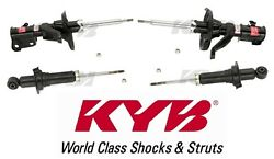 4-pieces Kyb Excel-g Shocks/struts 2-front And 2-rear Honda Civic