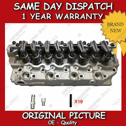 Complete Cylinder Head Fit For A Hyundai Galloperterracanh-1 2.5td 9806 Flush
