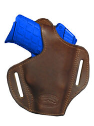 NEW Barsony Brown Leather Pancake Holster Kel-Tec Small 380 UltraComp 9mm40