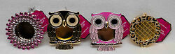 Bath And Body Works Scentportable Holders Jewel Owls Leopard You Pick