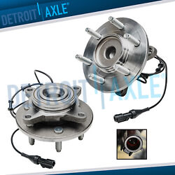 2wd Front Wheel Hub And Bearings For 2003-2006 Ford Expedition Lincoln Navigator