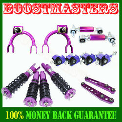 For Honda Civic/crx 88-91 Suspension Camber Kits Coilover Lower Control Purple