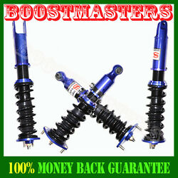 Performance Height Adjustable Coilover Suspension Kit For Nissan Z32 300zx