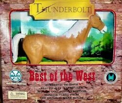 RARE MARX TOYS 2000 RELEASE BEST OF THE WEST THUNDERBOLT HORSE REISSUE NICE