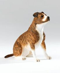 Country Artists Dogs Staffordshire Bull Terrier Figurine 9.5cm CA06294