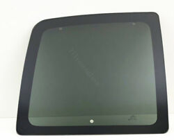Fits 1996-2021 Cherolet Express Driver Left Back Glass Window Movable Privacy