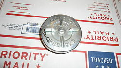 N.o.s. 1953-62 Corvette Gas Cap Stamped S And039no Gm Box