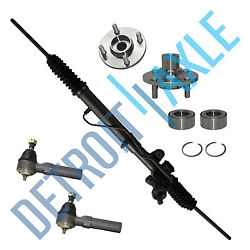 For 95 - 99 Dodge Plymouth Neon Rack And Pinion Front Wheel Bearing Tie Rod Kit