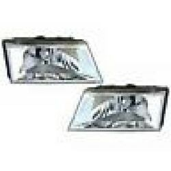 2006-2011 Grand Marquis Both Left And Right Headlamps 2pc Kit Brand New