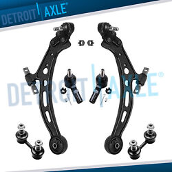 6pc Front Lower Control Arm Sway Bar Tie Rod For Lexus Es300 Toyota Camry Avalon