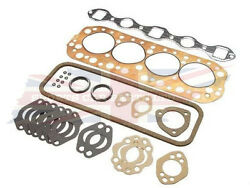 New Mgb Copper Cylinder Head Gasket Set 1965-80 High Quality Made In Uk
