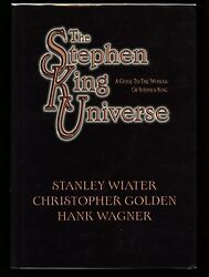 The Stephen King Universe Limited Ed. Signed By All 3 Contributors, 852 Of 1000