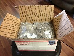 Sixty Pounds 60 Of Canadian 99.9 Nickel Nickels