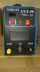 Plasma Cutter 50amp New Cut50 Inverter 220v Voltage And 48 Consumables 2020 Model