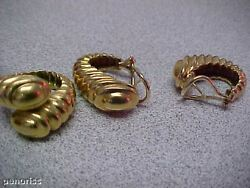Authentic Ring And Earring Set 18k Make Offer