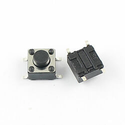 1000pcs Momentary Tactile Tact Push Button Switch 4 Pin Smd Smt 6x6x5mm High 5mm