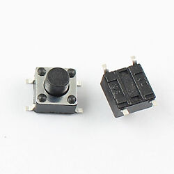 1000pcs Momentary Tactile Tact Push Button Switch 4 Pin Smd Smt 6x6x6mm High 6mm