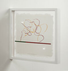 Richard Tuttle Fluidity Of Projection 2008. Signed Limited Edition Print.