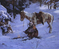 Howard Terpning Small Comfort S/nw/coa Ebay Low-offer Free S/h