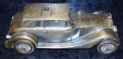 1974 Banthrico Metal Bank Promotional 1937 Rolls Royce Chicago Il Car Fed Bank
