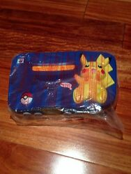 Nintendo 64 Pikachu Pokemon Blue And Yellow Console Console Only In Bag
