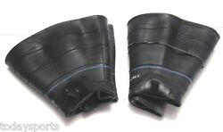 Set Of Two New 16x6.50-8 16x650-8 Lawn Tire 16x750-8 Inner Tubes 8 Inch Diameter