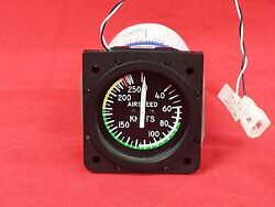 Aerosonic 2andrdquo 40-250 Knot Airspeed Indicator P/n 25025-0175 Unit Only