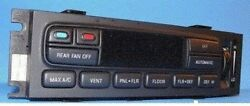 2002-2004 FORD F150 F250 EATC AC HEATER CONTROL WITH REAR DEFROST 3L34-19C933-AA