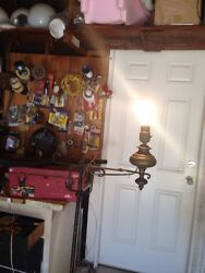 Wrought Iron Hand Forged Antique Floor Lamp