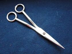 Sterling Silver Victorian Scissors George Adams Marked London 1842