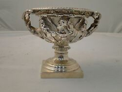 Miniature Warrick Vase Sterling Silver London 1909 Antique Fully Marked