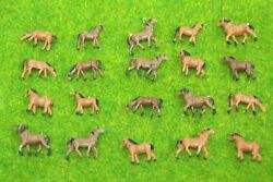 Lot 20 Pcs N Scale Animals Figures 1160 For Model Train Layout Horse